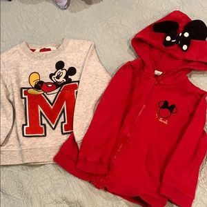 Mucky & Minnie Mouse sweater